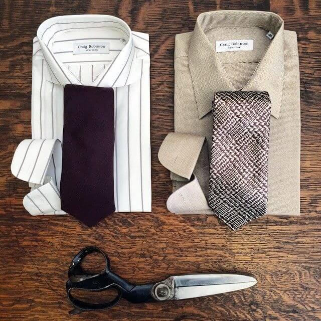 New Seasonal Shirting's and Ties!