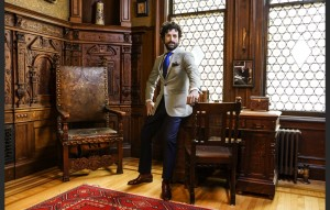 Custom Suit from the Pabst Collection