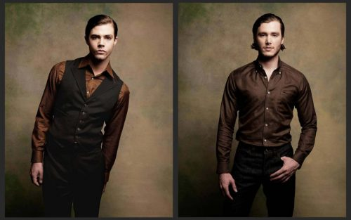 men's tailor made shirts and trousers