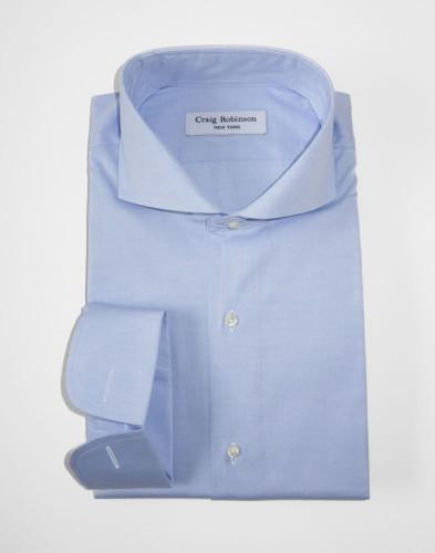 Robinson Brooklyn Spread Cuff Oxford Light Blue