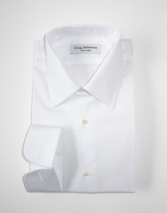 Robinson Brooklyn Standard Pinpoint Oxford White