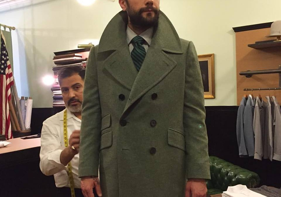 Last coat before Christmas