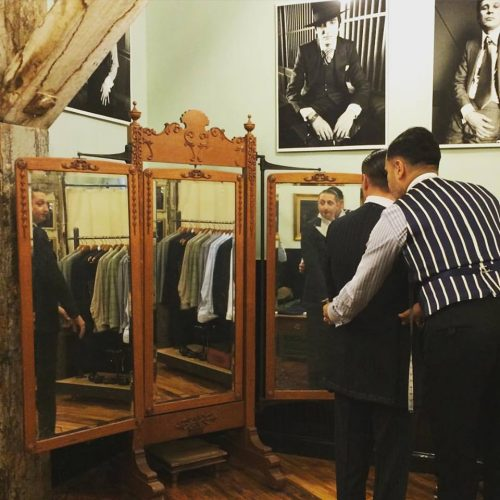 Robinson Brooklyn Ready To Wear Custom Suits For Men Tailor