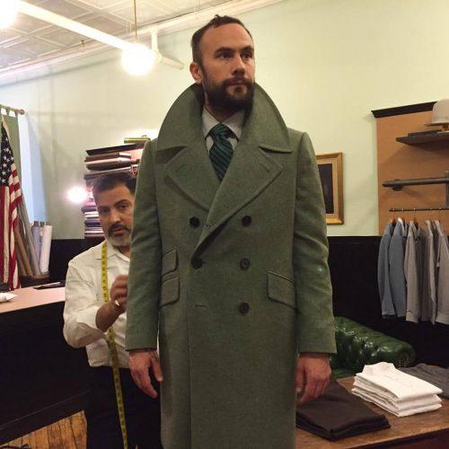 Custom made suits nyc