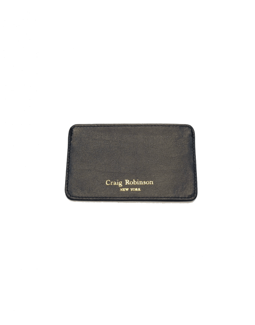 Gentleman Accessories | Black Leather Wallet