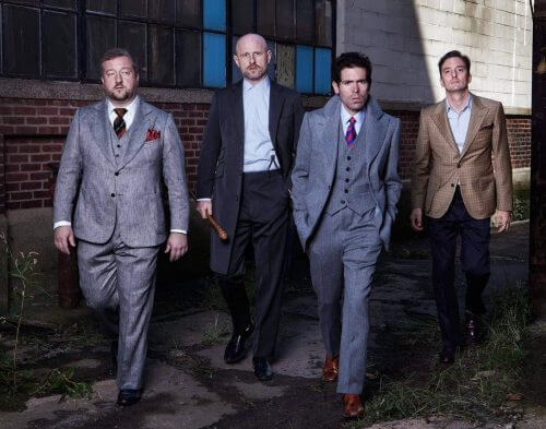 Mens Custom Made Bespoke Suit Tennenhaus Collection