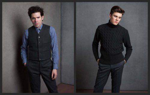Mens Custom Tailored Shirts Carlyle Collection