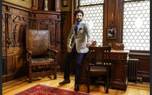 Bespoke Suit from the Pabst Collection