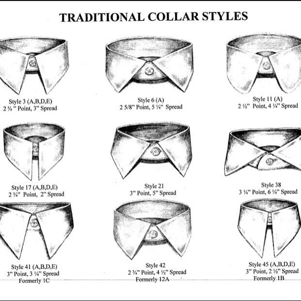 Traditional Collar Styles
