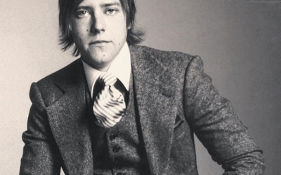 Another Favorite Portrait @interpol Paul Banks in our Harris tweed , a lot of fun what I can remember 2008