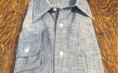 Lake, Pond, or the Mediterranean . Doesn't matter in Chambray Linen