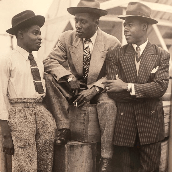 Swagger into Fall , love this shot of Jamaican style London late 40s