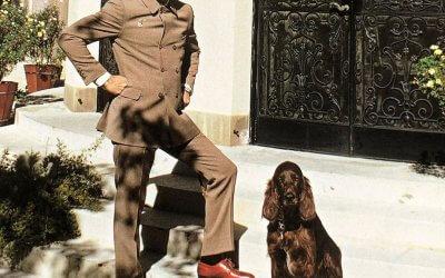 Sunday Style Tony Curtis